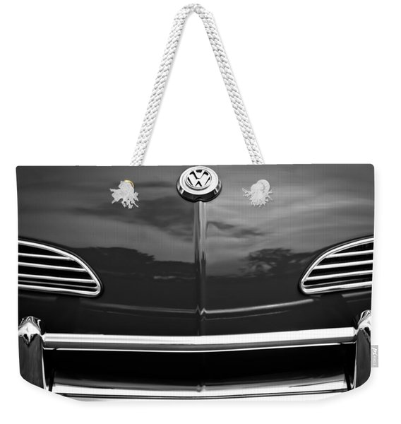 1968 Volkswagen Karmann Ghia Convertible Weekender Tote Bag