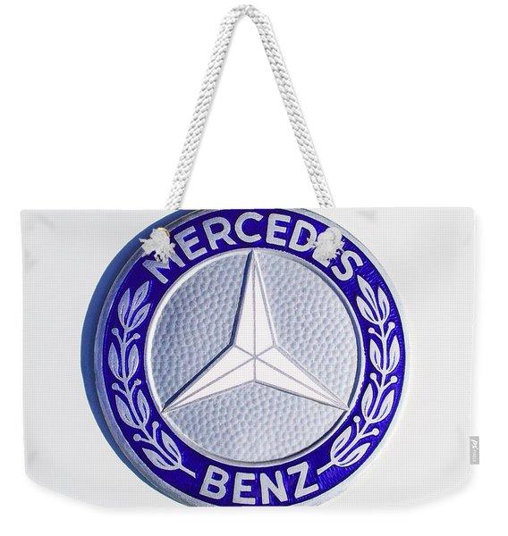 1969 Mercedes-benz 280 Sl Emblem Weekender Tote Bag