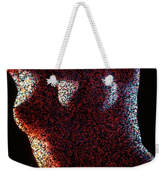1970s Special Effect Anonymous Nude Weekender Tote Bag