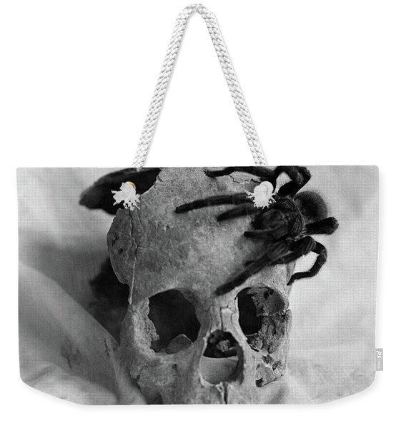 1970s Tarantula Spider Crawling Weekender Tote Bag