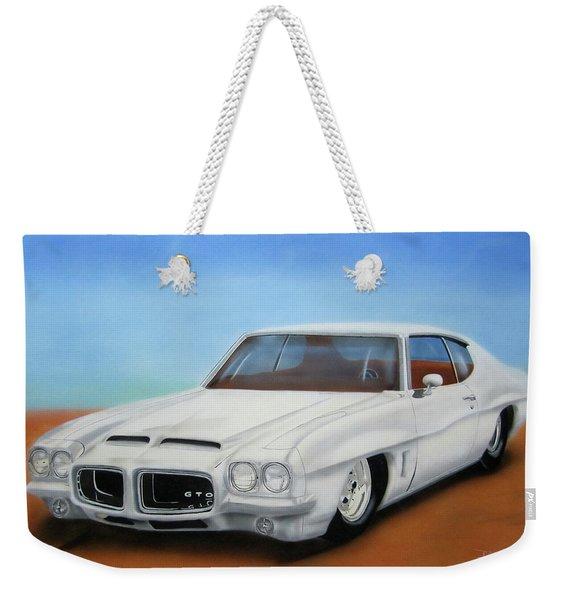 1972 Pontiac Gto Weekender Tote Bag