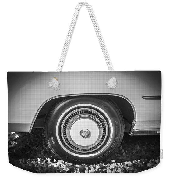 1978 Cadillac Eldorado Bw Weekender Tote Bag