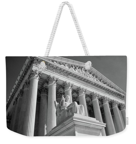 1980s Federal Supreme Court Building Weekender Tote Bag