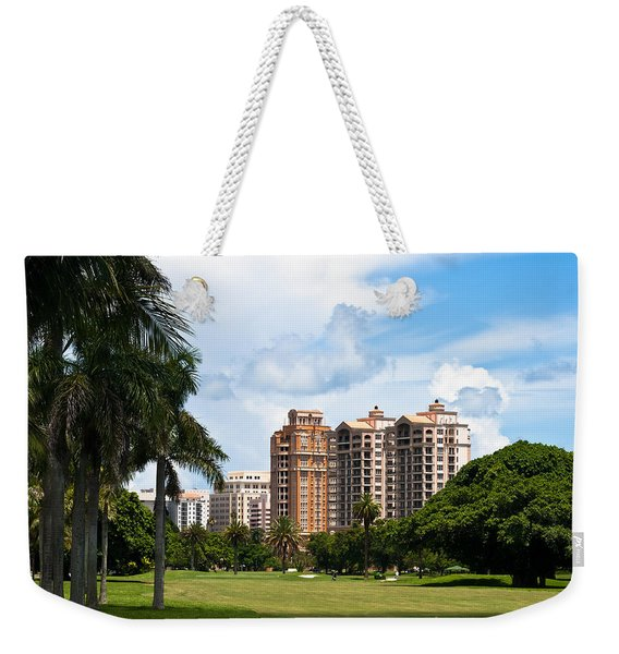 1st Hole At Granada Golf Course Weekender Tote Bag