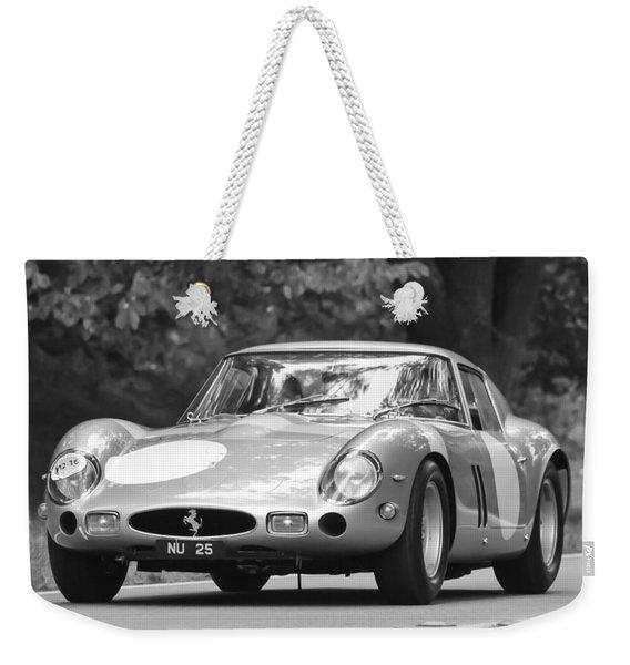 Weekender Tote Bag featuring the photograph 1963 Ferrari 250 Gto Scaglietti Berlinetta by Jill Reger