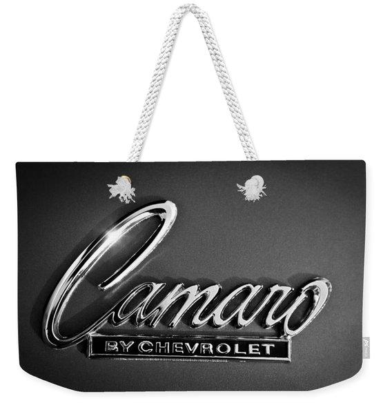 1969 Chevrolet Camaro Emblem Weekender Tote Bag