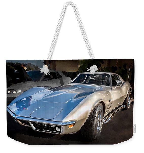 1969 Chevrolet Corvette 427 Weekender Tote Bag