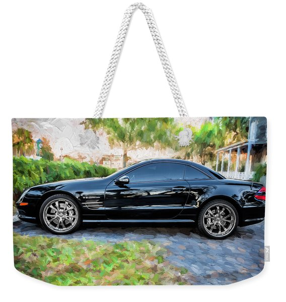 2006 Mercedes Benz Sl55 V8 Kompressor Coupe Painted  Weekender Tote Bag