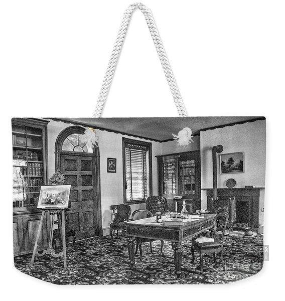 A Presidents Desk Weekender Tote Bag