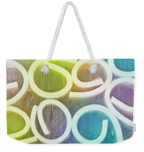 Abstract Pattern Weekender Tote Bag