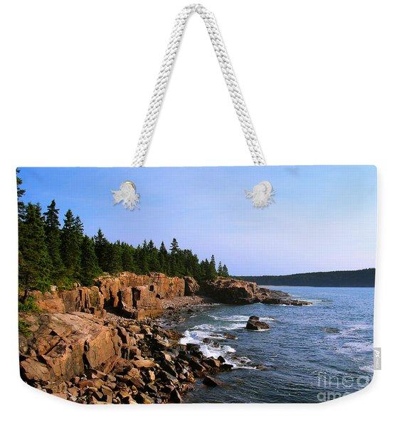 Acadia Coast Weekender Tote Bag