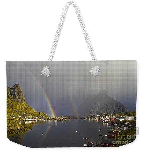 After The Rain In Reine Weekender Tote Bag