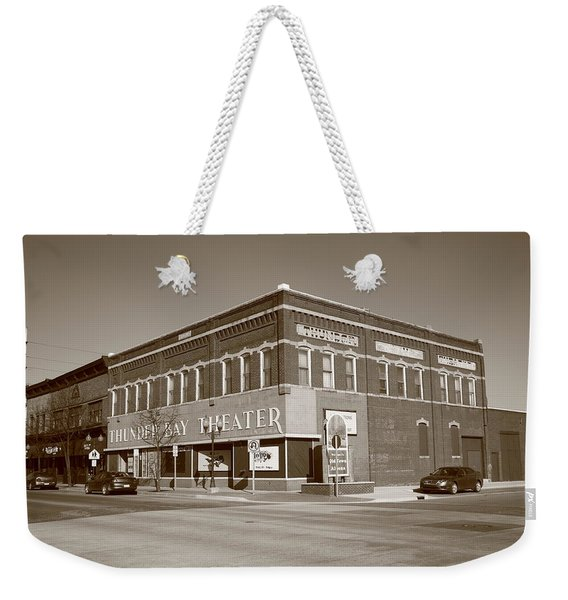 Alpena Michigan - Thunder Bay Theatre Weekender Tote Bag