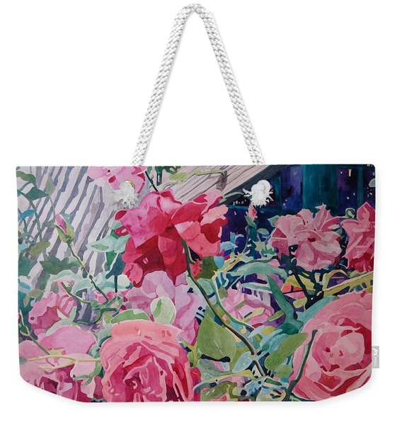 American Beauty Weekender Tote Bag