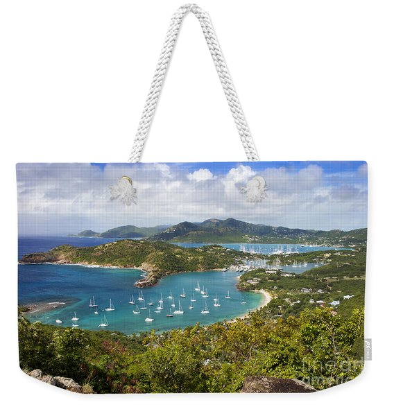 Weekender Tote Bag featuring the photograph Antigua by Brian Jannsen