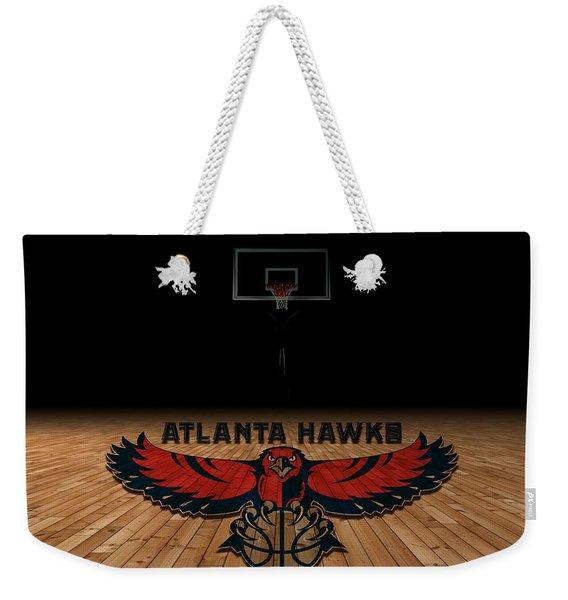 Atlanta Hawks Weekender Tote Bag