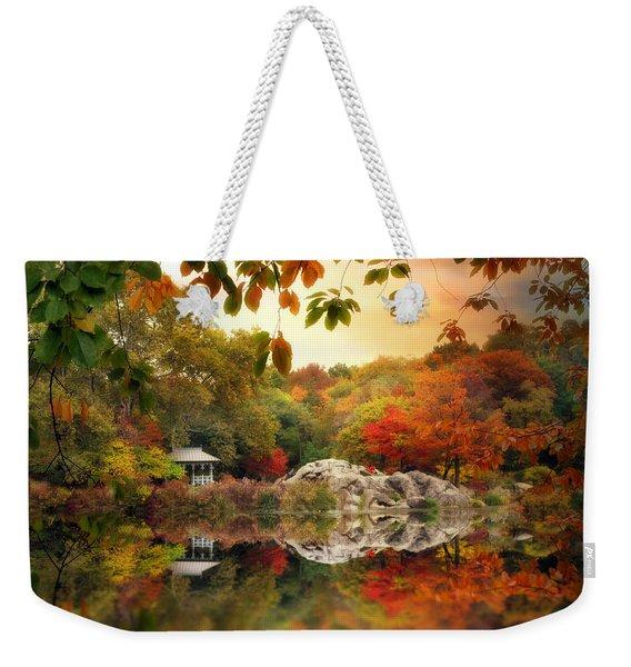 Autumn At Hernshead Weekender Tote Bag