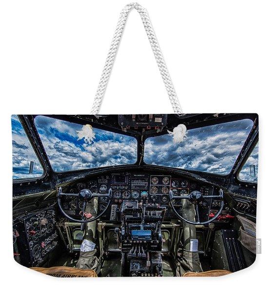 B-17 Cockpit Weekender Tote Bag