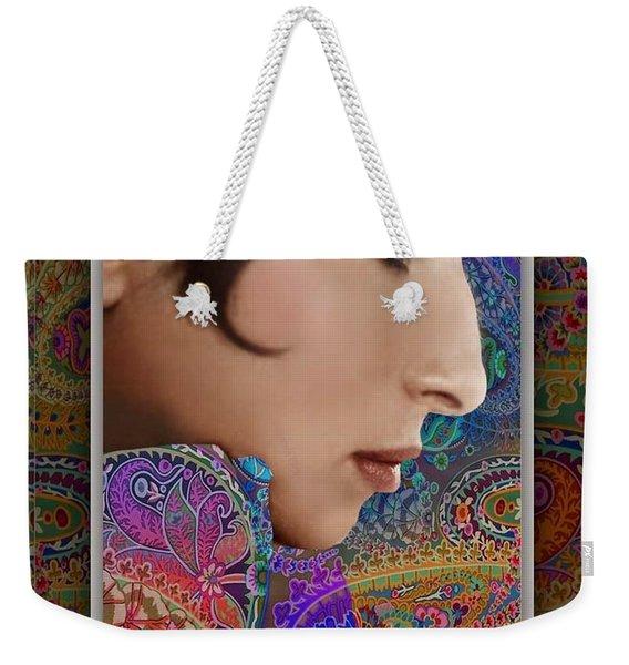 Barbra Weekender Tote Bag