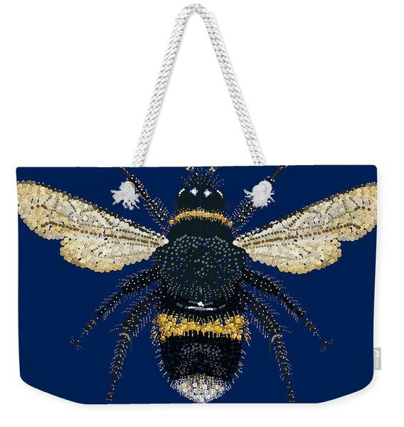 Bumblebee Bedazzled Weekender Tote Bag