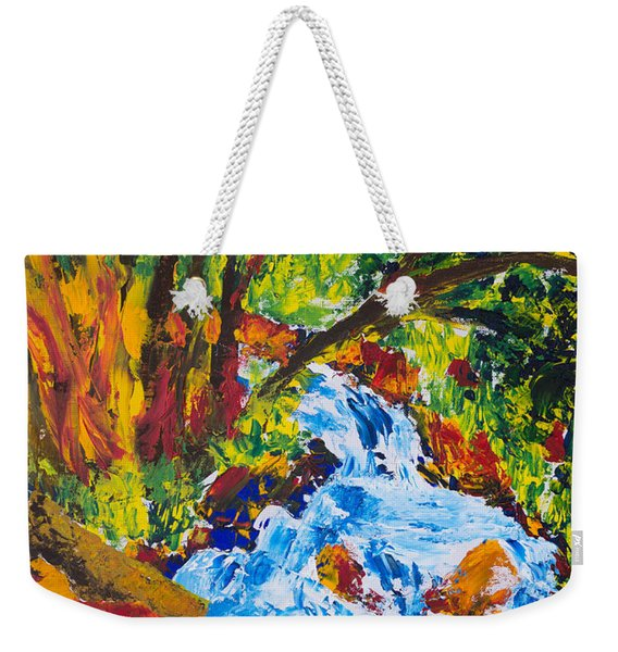 Burch Creek Weekender Tote Bag