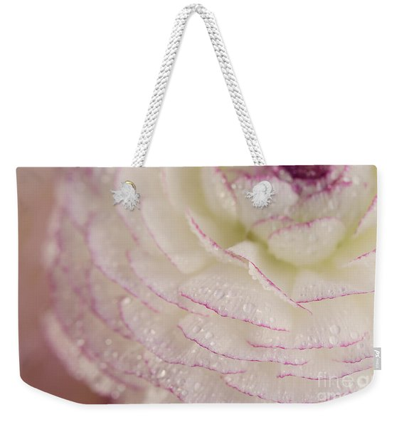 Buttercup Flower With Dew Weekender Tote Bag