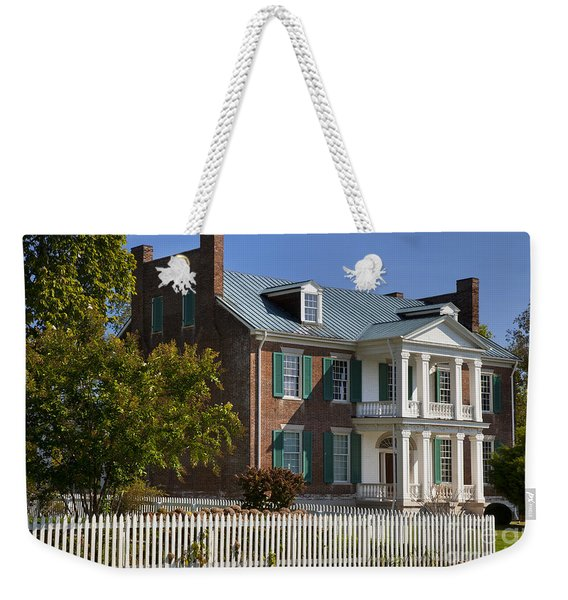 Weekender Tote Bag featuring the photograph Carnton Plantation by Brian Jannsen