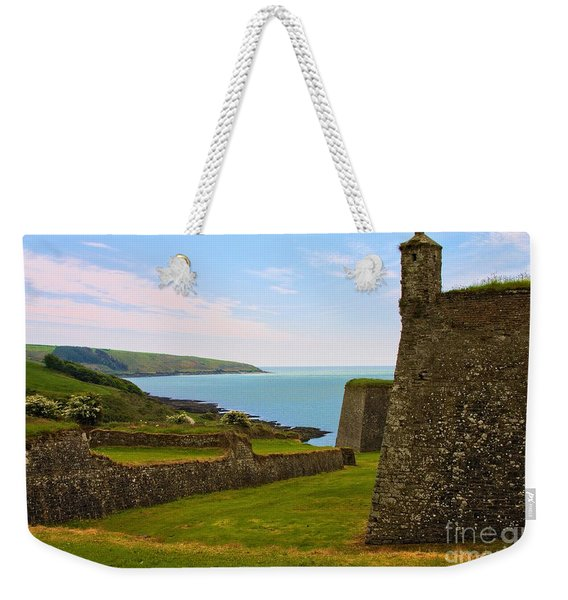Weekender Tote Bag featuring the photograph Charles Fort Kinsale by Jeremy Hayden