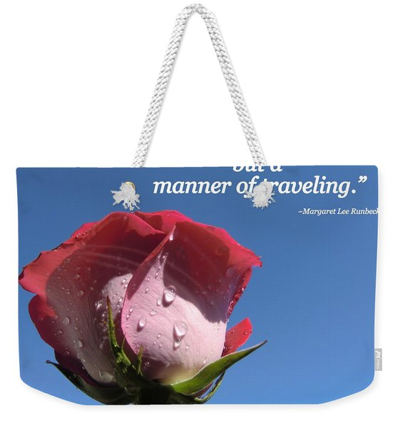 Choose Your Quote Choose Your Picture 23 Weekender Tote Bag