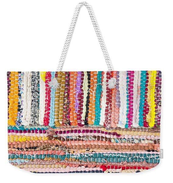 Colorful Rug Weekender Tote Bag