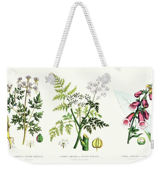 Common Poisonous Plants Weekender Tote Bag