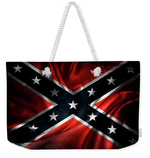 Confederate Flag 1 Weekender Tote Bag