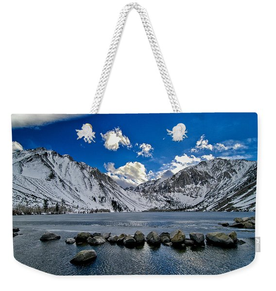 Convict Lake Weekender Tote Bag