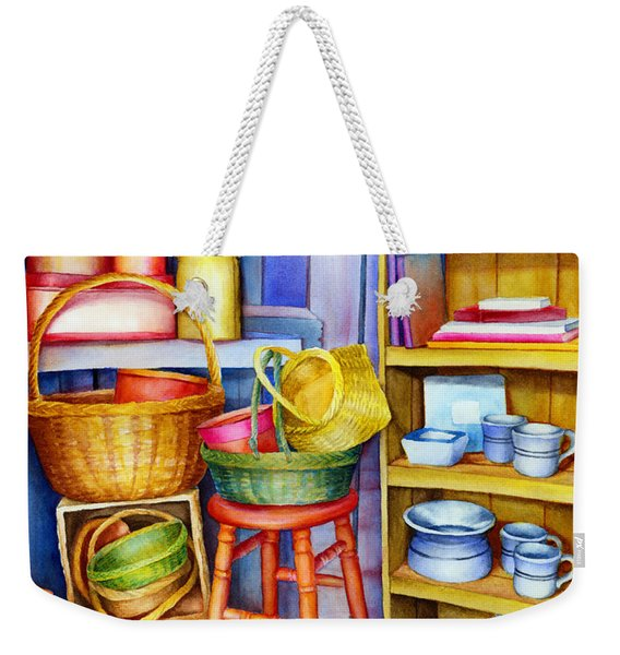 Corner Of Time Weekender Tote Bag