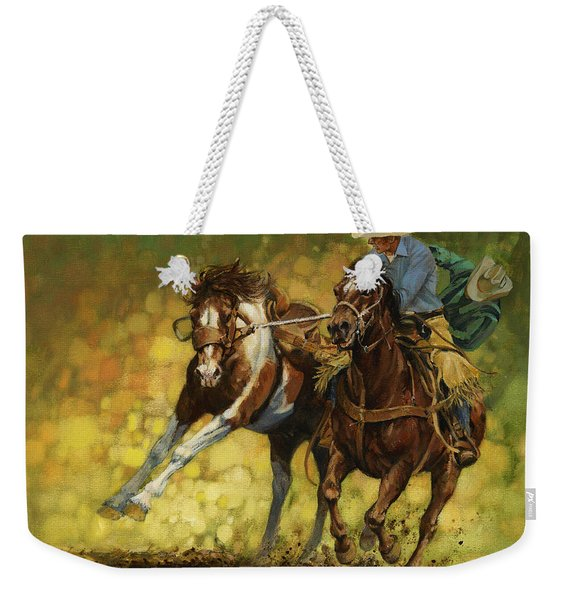 Rodeo Pickup Weekender Tote Bag