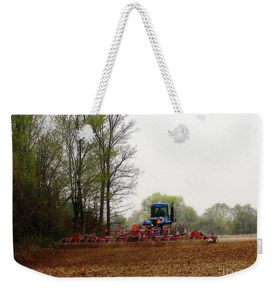 Cultivating The Soil In May Weekender Tote Bag