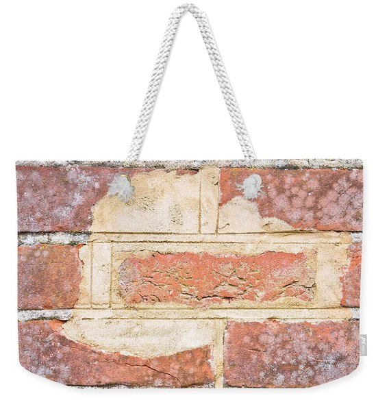 Damaged Wall Weekender Tote Bag