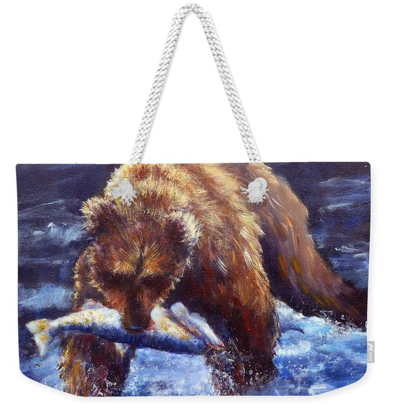 Day's Catch Weekender Tote Bag