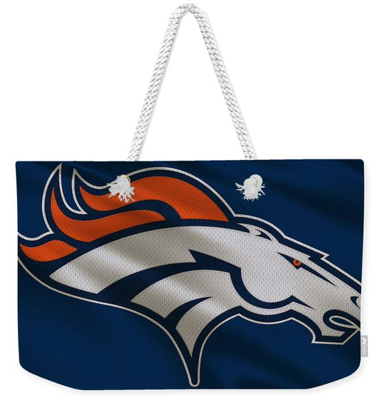 Denver Broncos Uniform Weekender Tote Bag