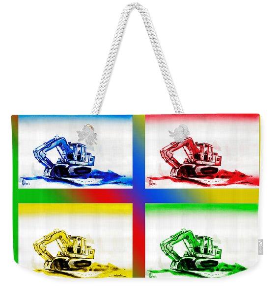 Dozer Mania II Weekender Tote Bag