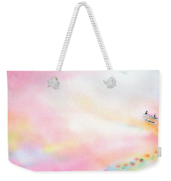 Evening Cruise Weekender Tote Bag