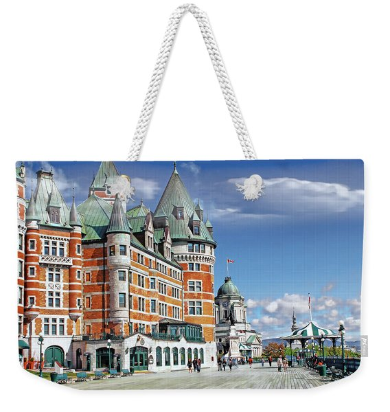 Fairmont Le Chateau Frontenac Series 01 Weekender Tote Bag