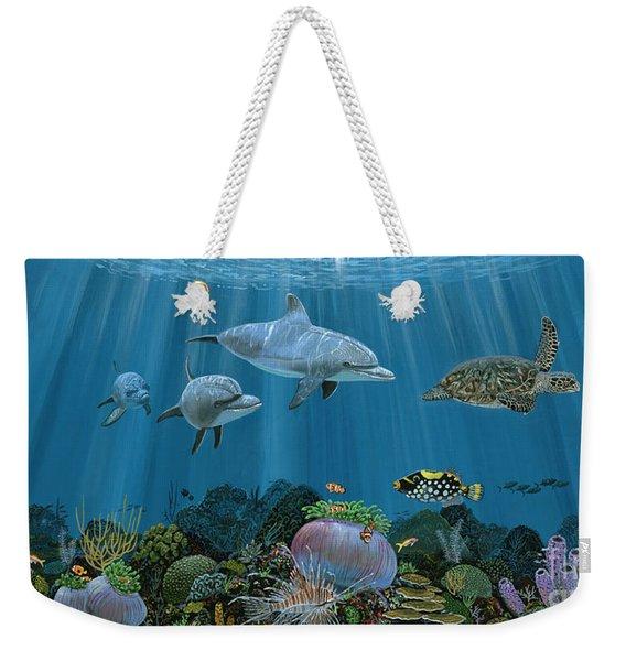 Fantasy Reef Re0020 Weekender Tote Bag