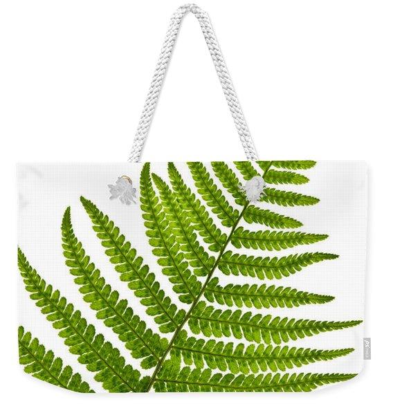 Fern Leaf Weekender Tote Bag