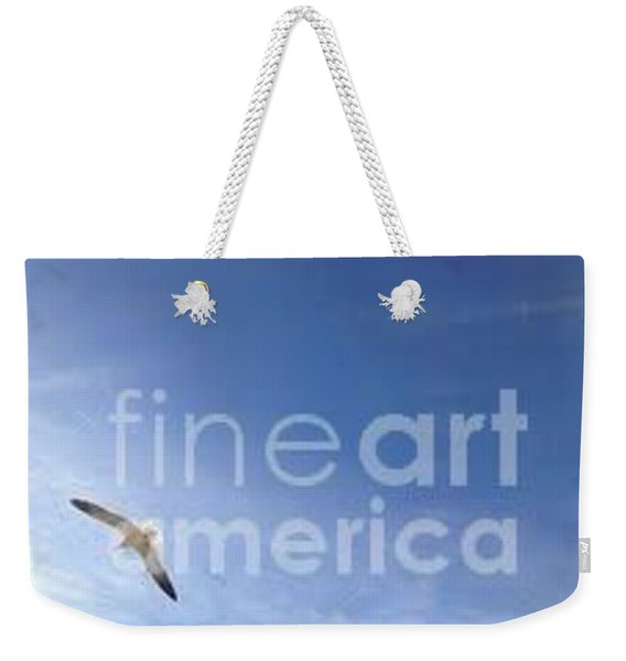 Weekender Tote Bag featuring the photograph Free by Laurie Lundquist