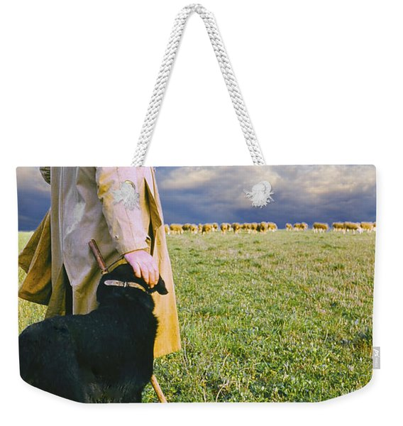 French Shepherd Weekender Tote Bag