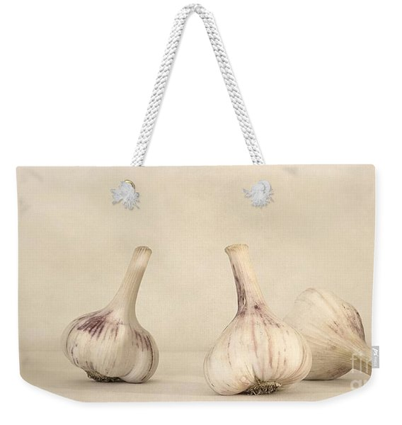Fresh Garlic Weekender Tote Bag