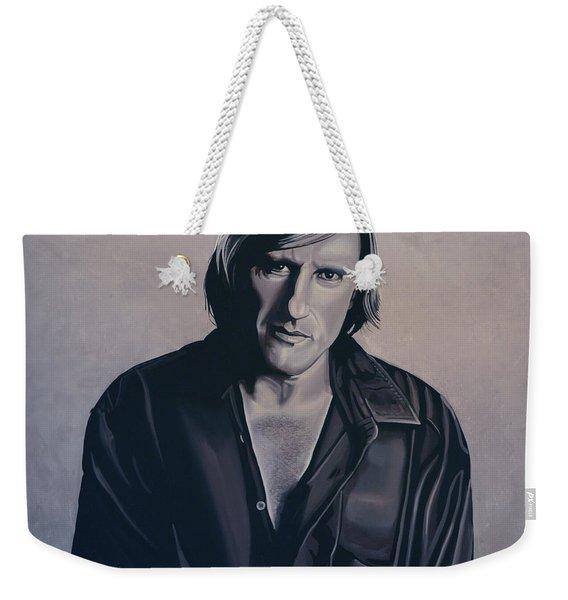 Gerard Depardieu Painting Weekender Tote Bag