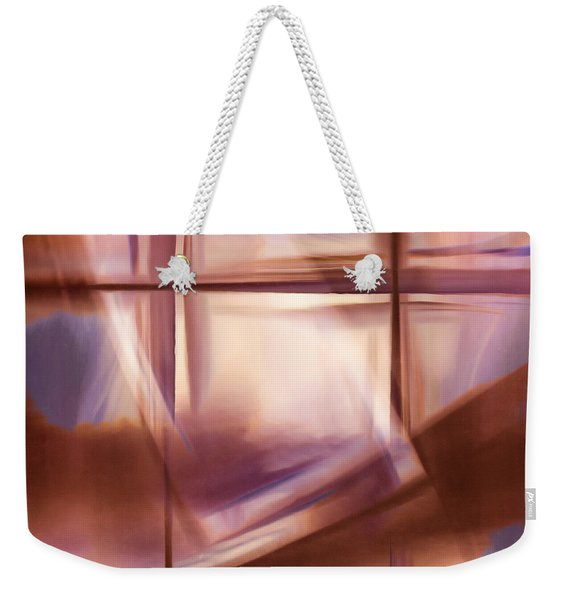Glass Abstract Weekender Tote Bag