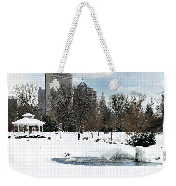 D48l3 Goodale Park Photo Weekender Tote Bag
